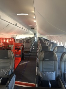 An example of C-Series Interior lay out